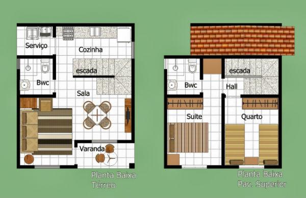 Plantas de casas duplex 2