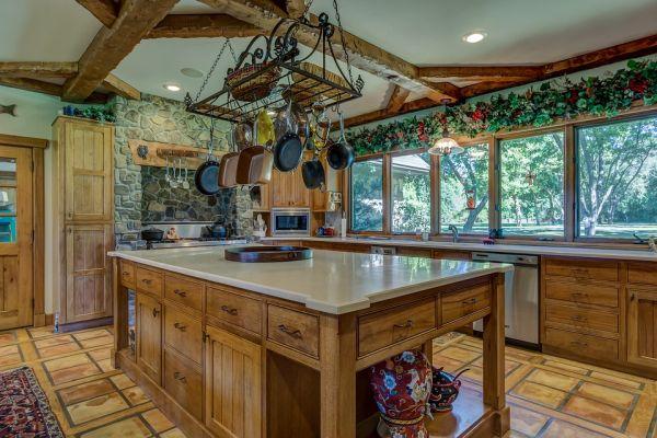 Projetos de cozinha americana grande