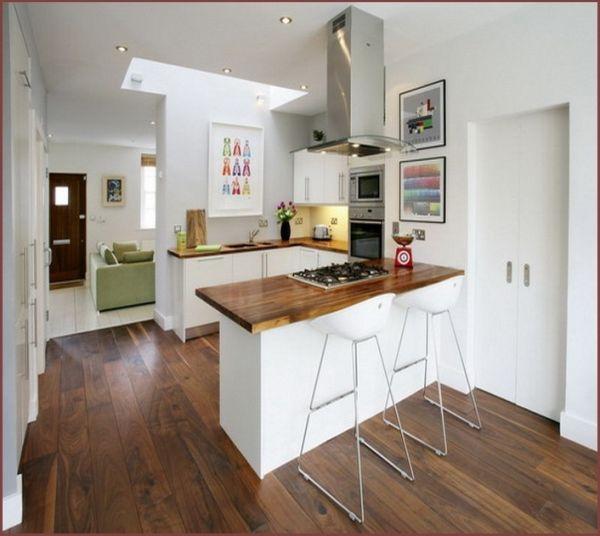 Kitchen Decorating Pinterest: Projetos-de-cozinha-americana-pequena