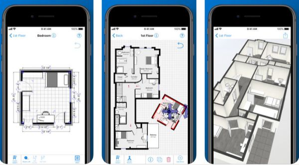 app para desenhar projeto de casa
