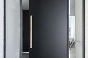 modelos de porta pivotante