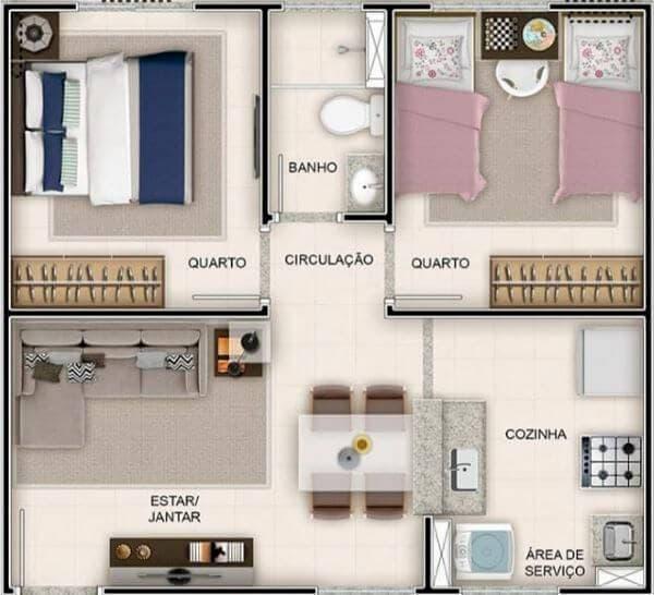 planta de casa funcional 2
