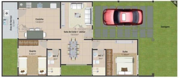 planta de casa para terreno pequeno (1)