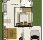 projeto de casa lateral 1